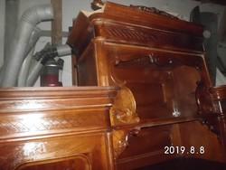 Bécsi-barokk bútor (szett)