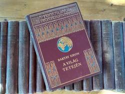 A Magyar Földrajzi Társaság Könyvtára 28 antik kötet egyben
