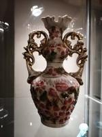 Zsolnay Virágos váza.