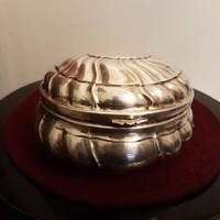 Antik Ezüst cukortartó 1800-as évekből, bonbonier