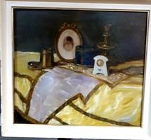 Mende Gusztáv -Sopron  csendélet festmény