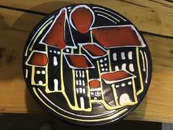 Iparmuvesz retro tányér