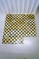Antik járólap cementlap mozaiklap 23 db
