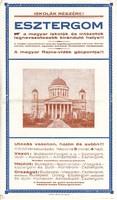 ESZTERGOM / FÜRDŐ SZÁLLÓ, idegenforgalmi kiadvány 1928