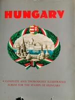 Mikus féle magyar bélyegalbum Amerikai kiadás Hungary többmint 2000 bélyeggel