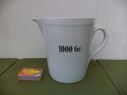 Zsolnay porcelán mérőpohár 1000