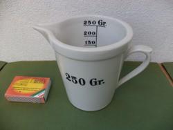 Zsolnay porcelán mérő pohár 250