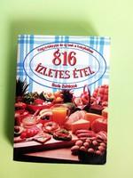 816 ízletes étel - Hagyományos és új ízek a konyhában - 1998.