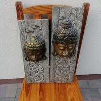 Faragott buddha relief 2db