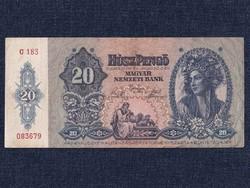 Háború előtti sorozat (1936-1941) 20 Pengő bankjegy 1941 / id 10790/