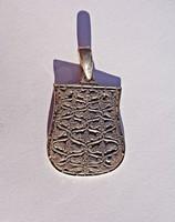 925-ös, fémjelzett tarsolylemez medál