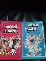 Zsidó viccek két kötet.