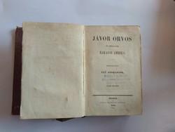Fáy András: Jávor orvos és szolgája Bakator Ambrus, 1855, Landerer és Heckenast