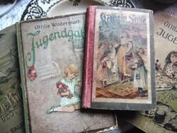 4 db antik ifjúsági / kaland német nyelvű könyv