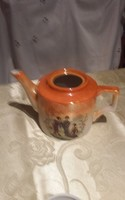 Zsolnay gésa kanna sérült teás