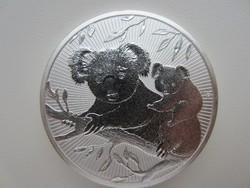 2uncia ezüst befektetési érme 0.9999ag Ausztrál Koala 2018