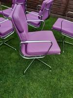 Retro design iroda, tárgyaló szék  Charles Eames stílusában EA 208