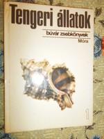 Búvár könyv sorozatból :Tengeri állatok