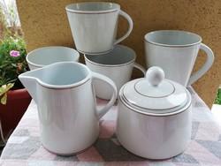 Német art+desing kávés-teás szett  6 db-os
