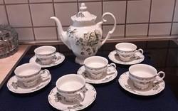 Weimar német porcelán kávés készlet