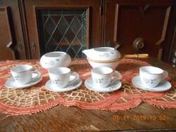 Zsolnay, Török János retro kávés készlet, Extrém ritka mintával