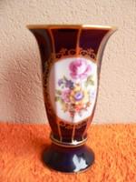 Ech Kobalt porcelán váza