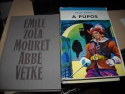 Zola: Mouret abbé vétke és Féval: A púpos