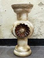 Retro kerámia padló virágtartó