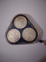 1977-es Festőművész-sor II. MNB tok 3x 200 Forint