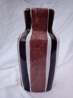Jelzett art deco kerámia váza   kiárusítás