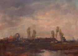 Magyar festő: Tanya