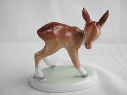 Aquincumi porcelán őzike