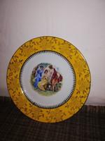 Gyönyörű jelenetes tányér!