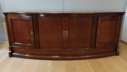 Assi d'Asolo különleges, redőnyös, kézzel készült, tömör fa szekrény