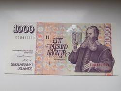 Izland 1000 Krónur 2004 UNC