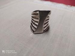 Aszimmetrikus 925 ezüst gyűrű