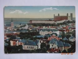 Régi képeslap: Pozsony, 1916