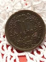 1 krajcàr 1872