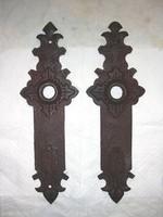 Antik kovácsoltvas zártakaró