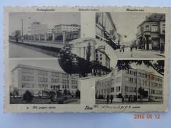 Régi képeslap: Léva (Felvidék), mozaik, 1939