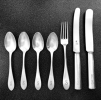 Német ezüst evőeszközök
