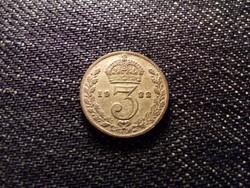 Anglia V. György .500 ezüst 3 Pence 1922 / id 12514/