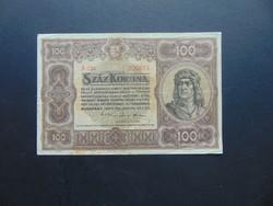 100 korona 1920 A 034