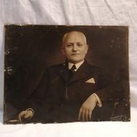 Varga fotóművész mester 1938 fotó aláírva 23,5x30,5 cm