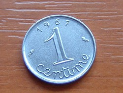 FRANCIA 1 CENTIME 1967 #