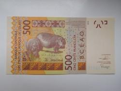 Nyugat afrikai államok / Szenegál/  500 francs 2019 UNC
