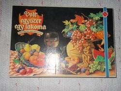 Volt egyszer egy lakoma társasjáték - retro, a 80-as évekből - Novoplast