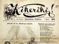 1874.01.01  /  Kikeriki!  /  regiujsag (EREDETI Külföldi újságok) Szs.:  12075