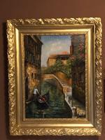 Venezia / Gian Berti • Olaszország  xx.Század /  Velencei iskola.
