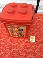 Üres Lego Basic 1577 Retro tároló doboz műanyag